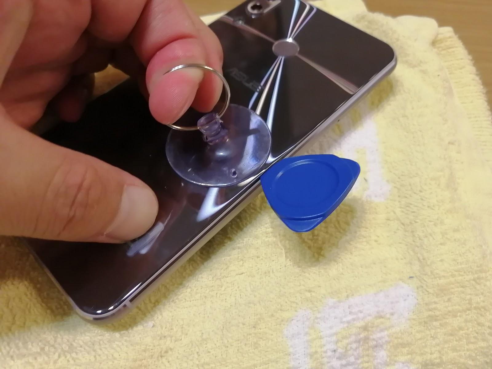 Zenfone5 ZE620KLディスプレイ交換