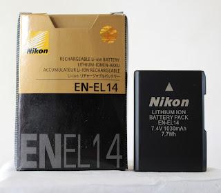 Baterai Nikon EN-EL14 Li-ION ( New )
