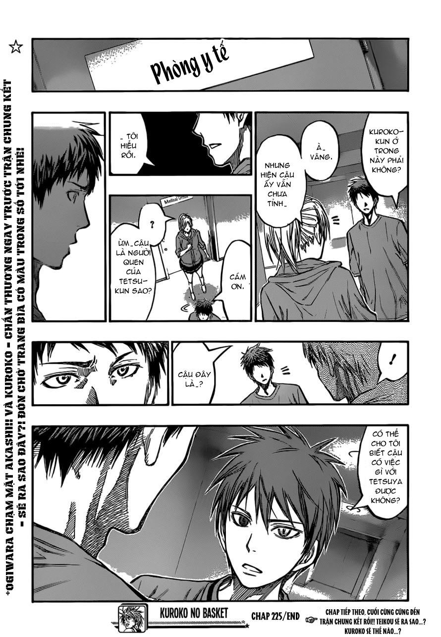 Kuroko No Basket chap 225 trang 21