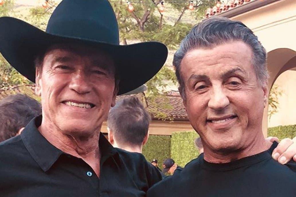 Schwarzenegger y Stallone
