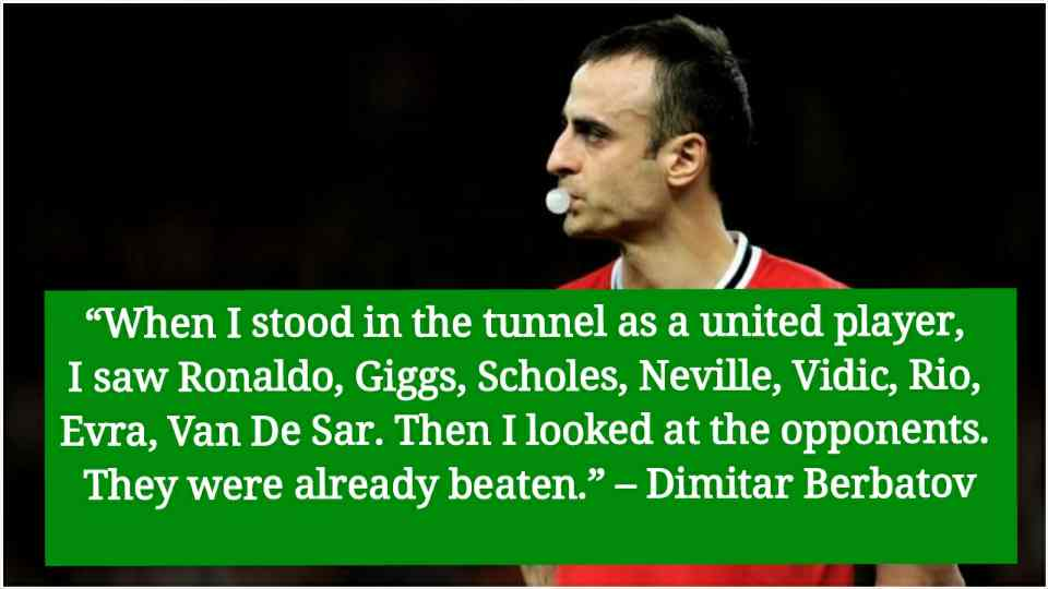 dimitar berbatov quotes