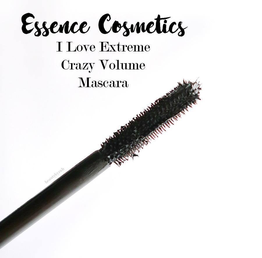 Essence I love extreme crazy volume mascara review