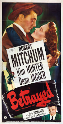 Betrayed (1944) poster