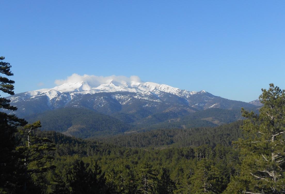 Sandras Dağı Zirvesi