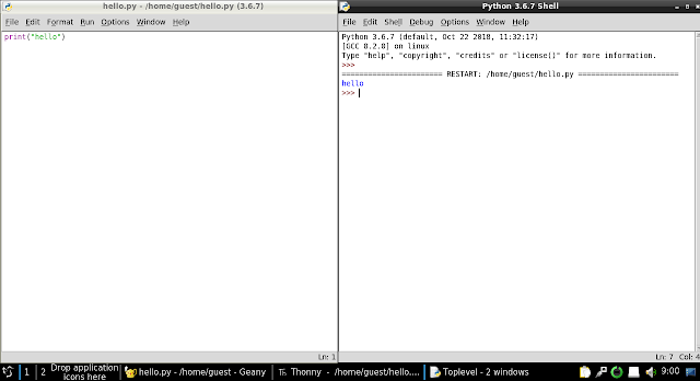 Idle Python IDE