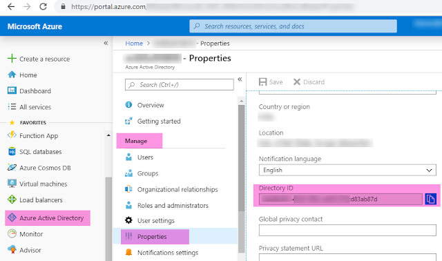 How to retrieve your Office 365 Tenant ID