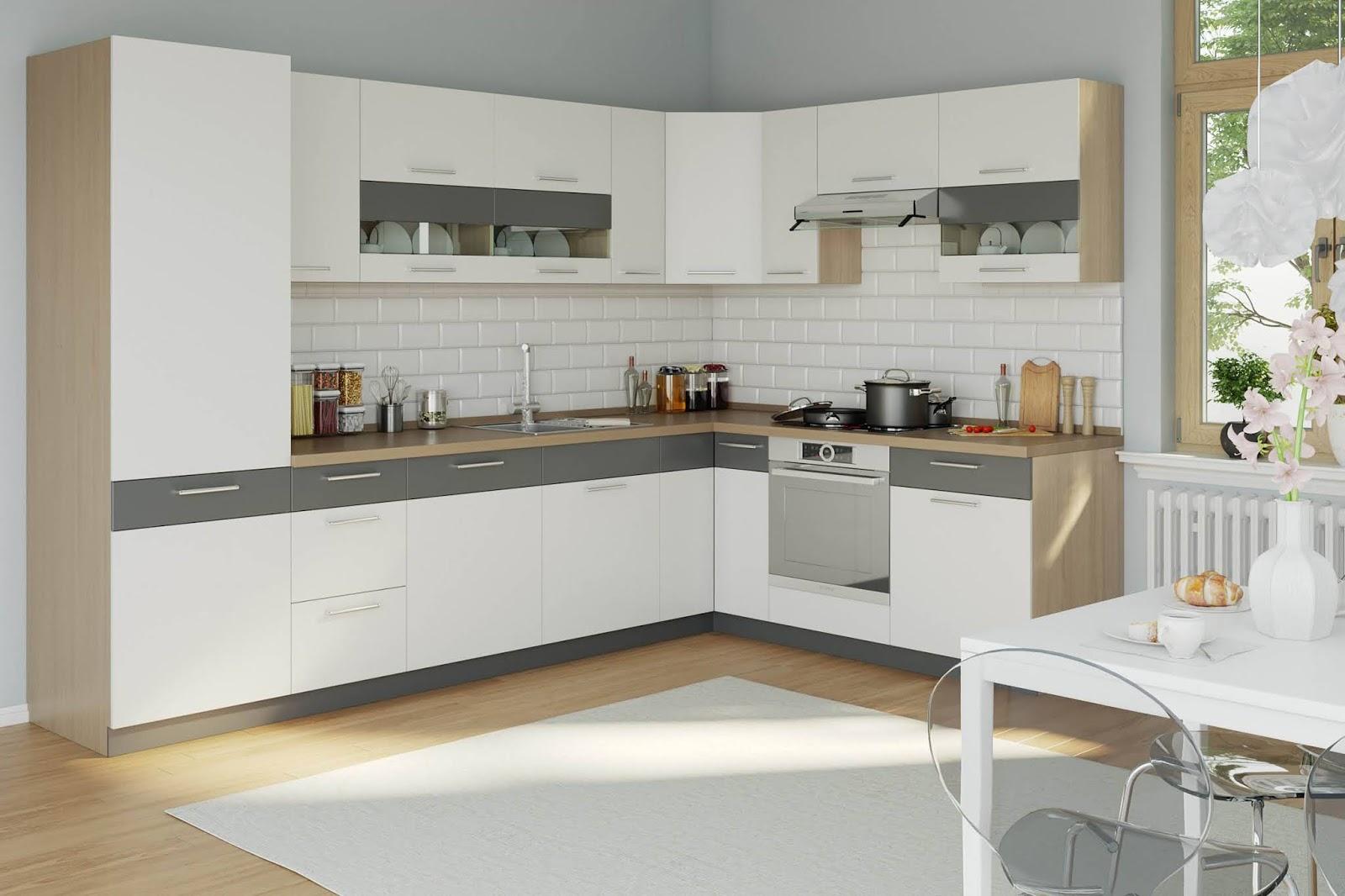 Awesome White Modular Kitchen Interior Designs 9