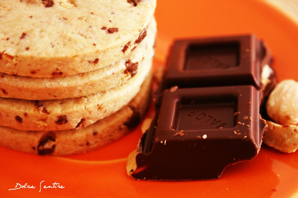 Keep Calm and...Galletas con Chips de chocolate y Avellanas (para decorar)