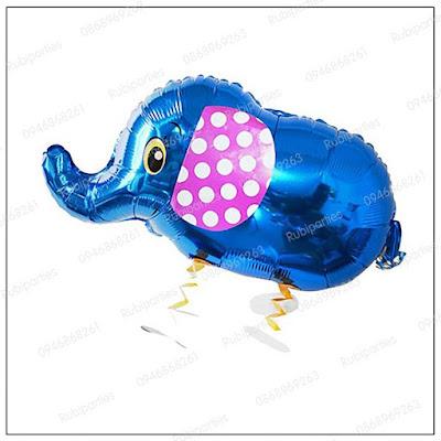 bong hinh con voi xanh