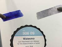 Nachweis von Wasser mit Watesmo