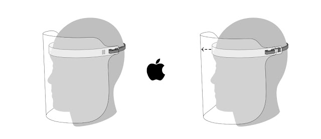 "Ini Tak Tipu. Apple Memperkenalkan Face Shield Kepada ""Frontliner"""