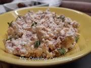 Разядка с козе сирене и сушени домати * Paté di caprino e pomodori secchi
