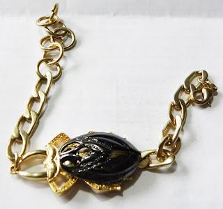 Golden scarab Egyptian bracelet modern from ASOS