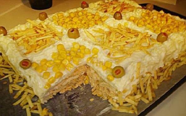 Receita de purezão recheado com dois queijos (Imagem: Reprodução/Internet)