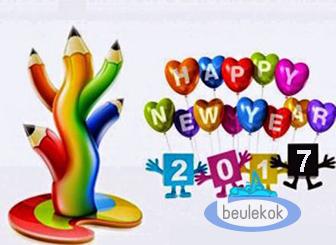 Pantun Ucapan Selamat Tahun Baru