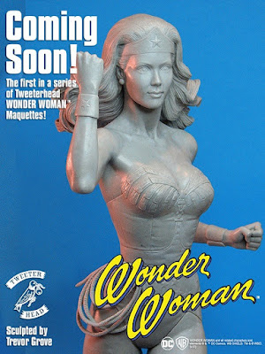Coming Soon Wonder Woman by Tweeter Head