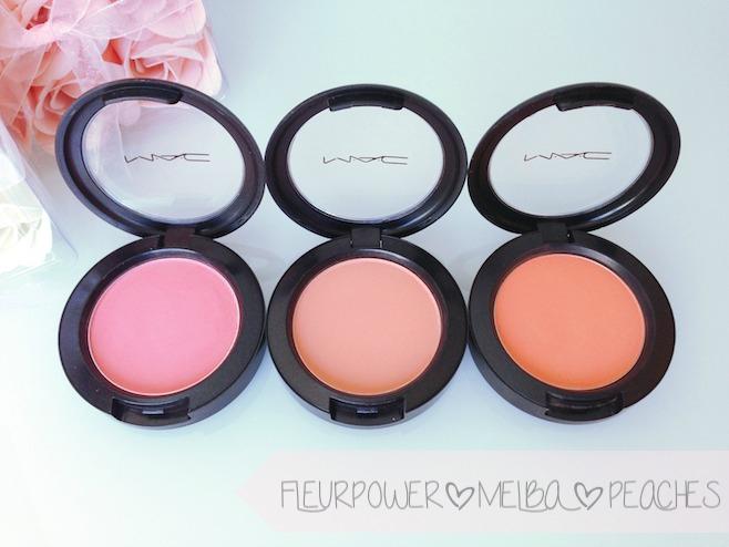 Extrêmement beautyexcel: SPRING CHEEKS | MAC Blushes RT23
