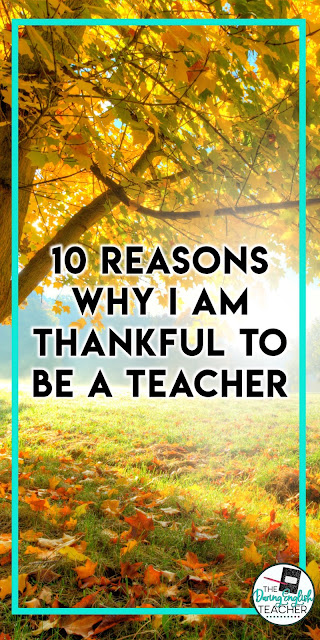 Thankful to be a Teacher