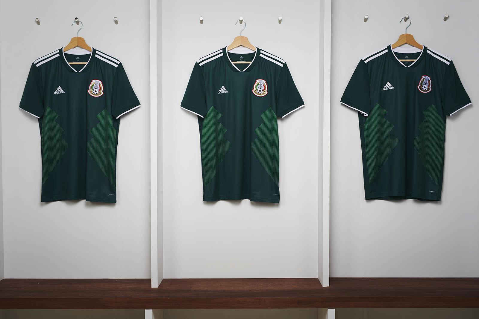 Le maglie Adidas del Messico per Russia '18 | numerosette.eu