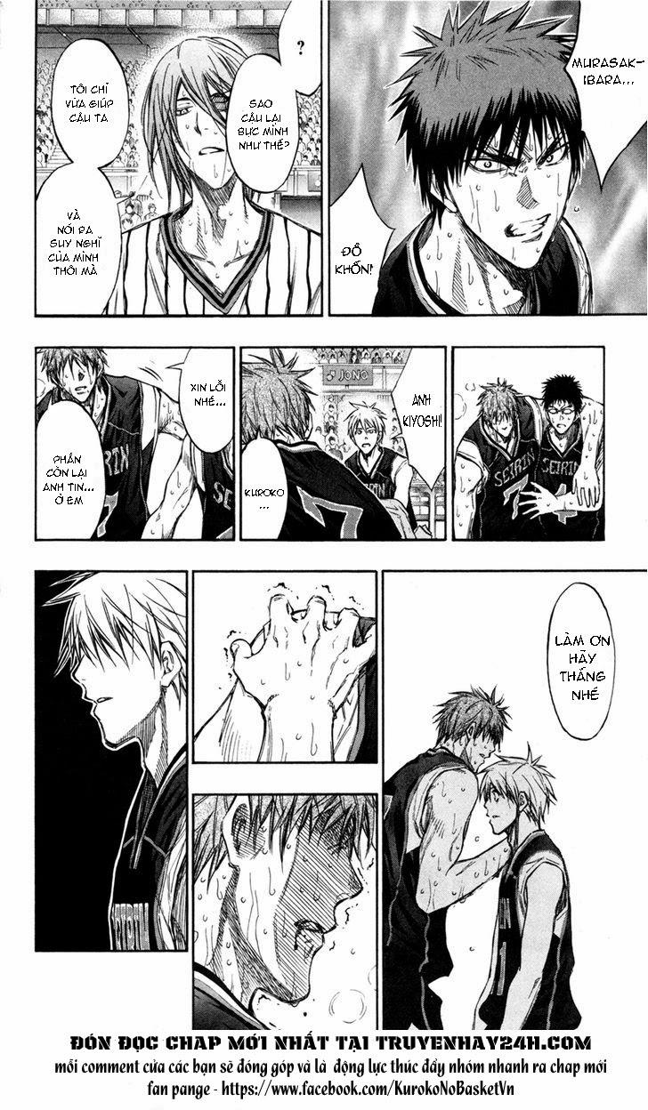 Kuroko No Basket chap 157 trang 19