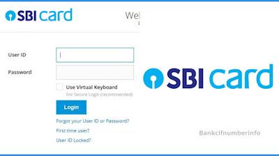 Regenerate SBI Credit card PIN - Net Banking