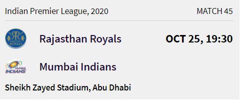 Mumbai Indians match 11 ipl 2020