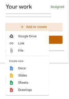 Cara Mengirim Foto Lewat Google Classroom