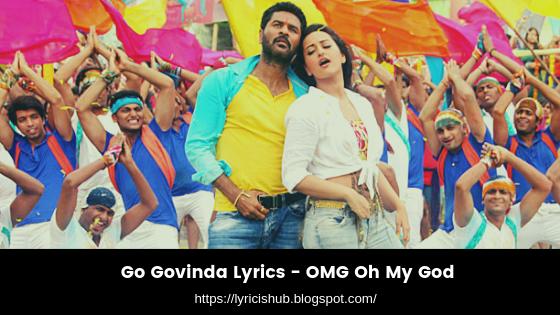 Go Govinda Lyrics - OMG Oh My God (lyricishub)