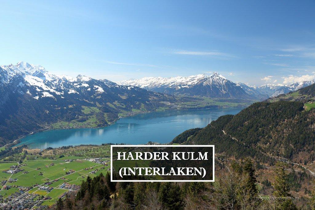 Harder Kulm la mejor panorámica de Interlaken | Suiza
