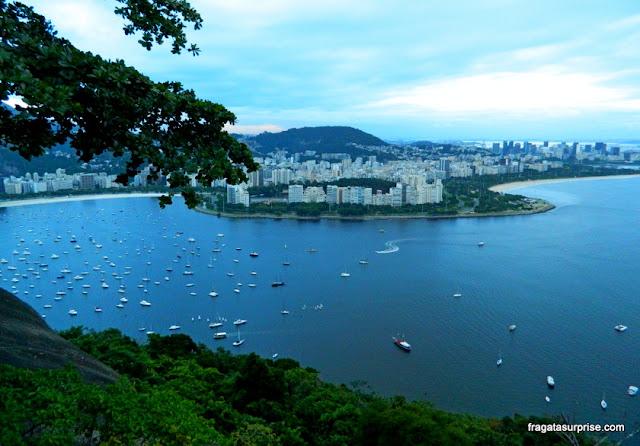 Rio de Janeiro - Aterro do Flamengo e Enseada de Botafogo vistos da Urca