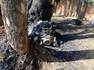 Ginimbi accident scene