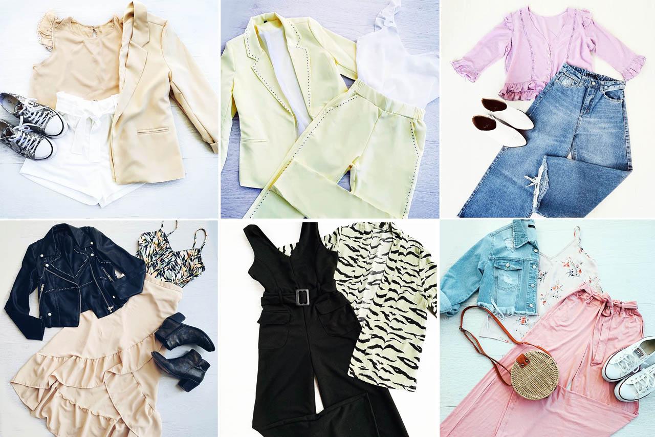 Moda verano 2020 ropa de mujer. Looks tendencia de moda verano 2020 ropa de mujer.