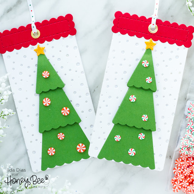 25 Days of Christmas Tags | Honey Bee Stamps by ilovedoingallthingscrafty.com