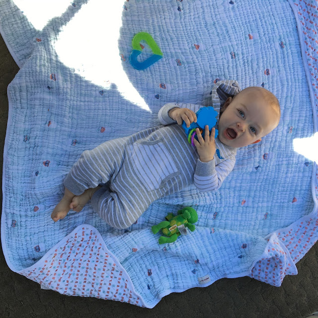Bebe au Lait snuggle blanket