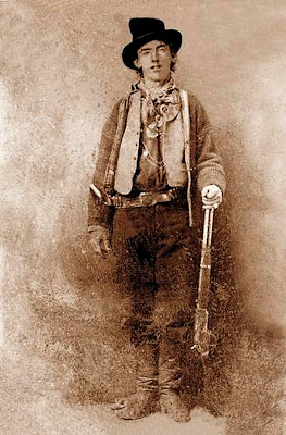 Billy the Kid William aka Henry McCarty, Henry Antrim and William H. Bonney