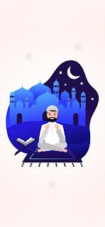 خلفية ايفون رمضان كريم دعاء