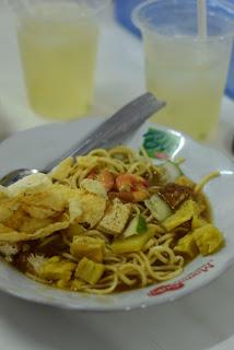 (Dok.pribadi) Mie Belitung dan Es Jeruk Kunci