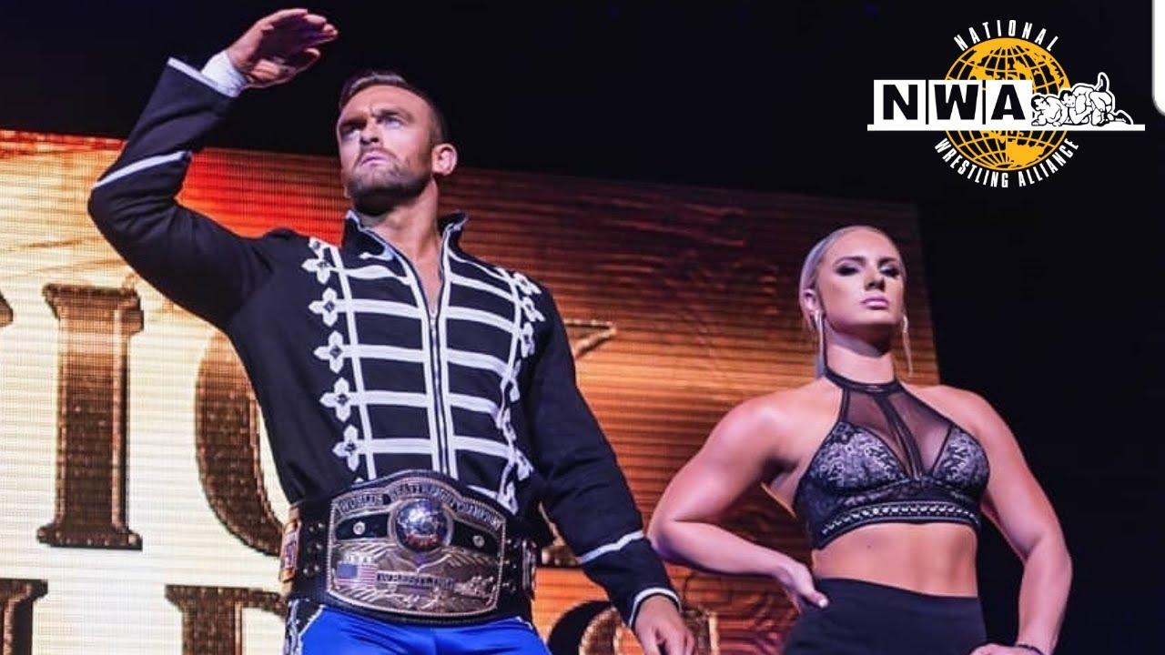 Nick Aldis atinge marco histórico com o NWA Worlds Heavyweight Championship