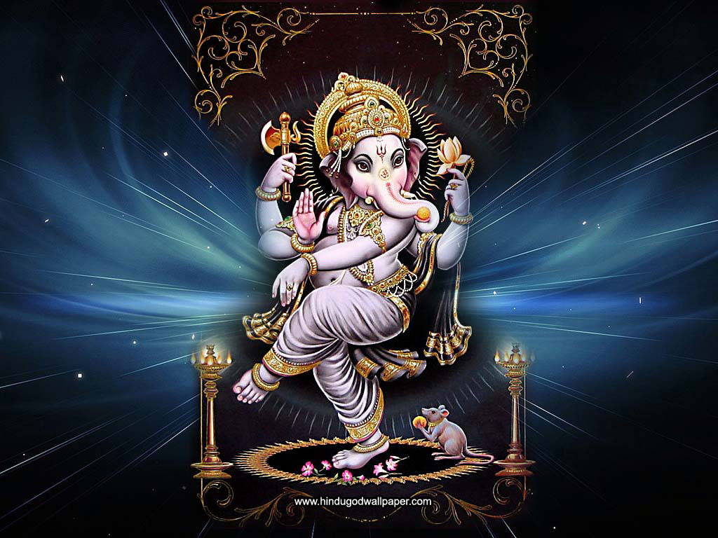 Hd wallpaper ganesh - Dancing Ganesha Still Photo Image Wallpaper Picture