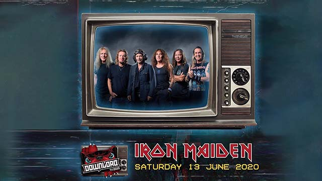 Οι Iron Maiden στο Download Festival TV Event