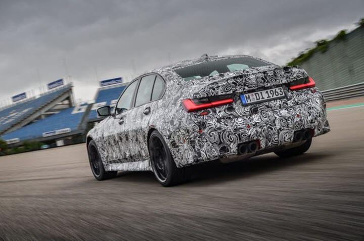 BMW xác nhận ra mắt M3 2021 và M4 2021 vào tháng 9, trang bị số sàn