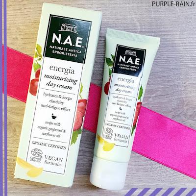Blog PurpleRain - Crème de jour hydratante - NAE