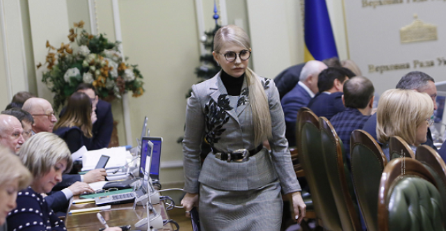 Тимошенко обвинила Порошенко в грязных предвыборных играх