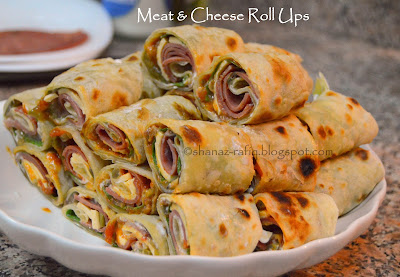 Meat & Cheese Roll Ups