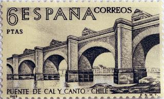 PUENTE DE CAL Y CANTO, CHILE