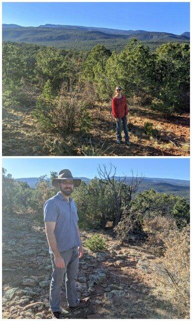 Hiking in NM