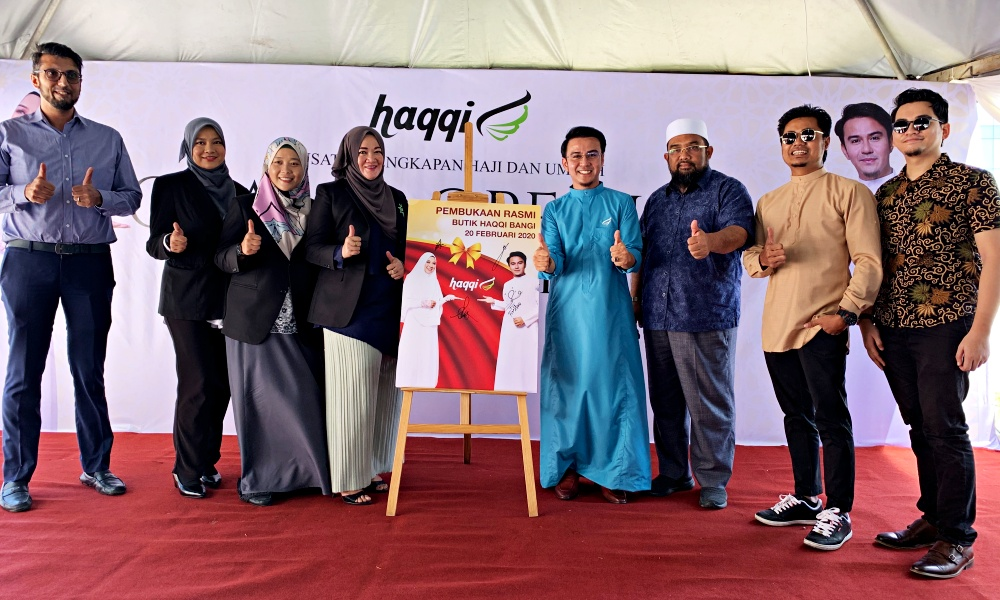 Haqqi, Haqqi Bangi, Hajj and Umrah Equipment, persiapan haji dan umrah, Haqqi Bangi Relocation, Rawlins Wears, persiapan raya, baju raya 2020