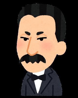 小村寿太郎の似顔絵イラスト