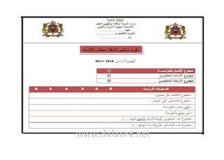 نماذج تقارير مجالس المؤسسة للأسدوس الأول جاهزة للطباعة