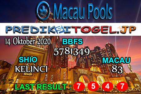 Prediksi Togel Wangsit Macau Pools Rabu